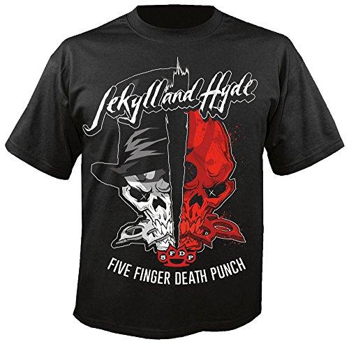 Five Finger Death Punch - Jekyll & Hyde - T-Shirt Größe L