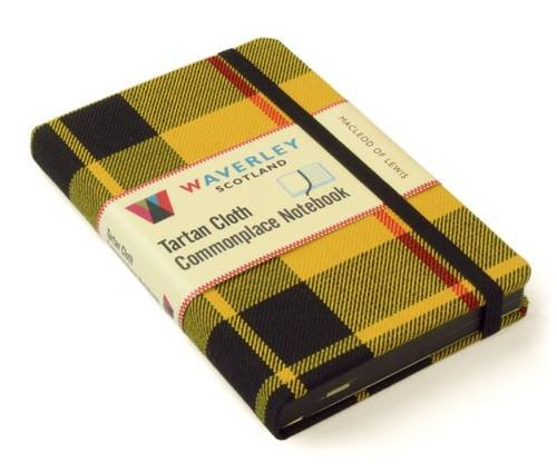 Waverley (M): MacLeod of Lewis Tartan Cloth Commonplace Pocket Notebook
