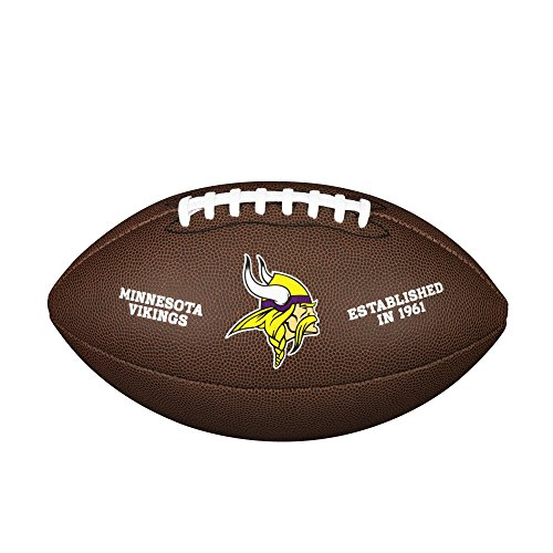 WILSON NFL Team Logo Composite Fußball, Minnesota Vikings, Official