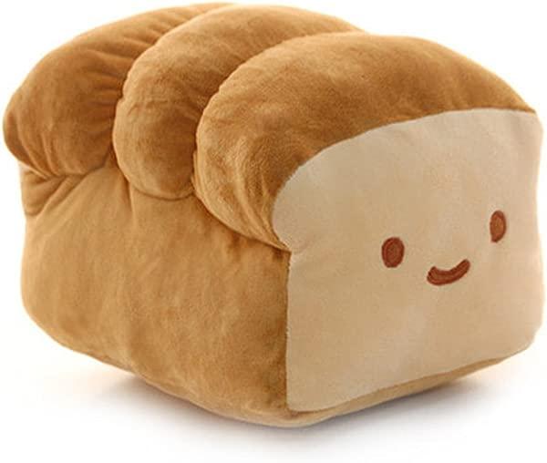 面包 10 15 毛绒抱枕靠垫公仔玩具家用床上房间室内装饰 10 英寸
