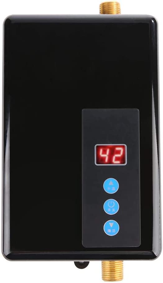 Garosa Mini Durchlauferhitzer, Mehrfache Sicherheitsmaßnahmen Durchlauferhitzer Durchlauferhitzer System Warmwasserversorgung für Küche und Bad…
