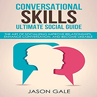 Conversational Skills Ultimate Guide audiobook cover art