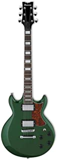 Ibanez AX 6 String Solid-Body Electric Guitar, Right, Metallic Forest, Full (AX120MFT)