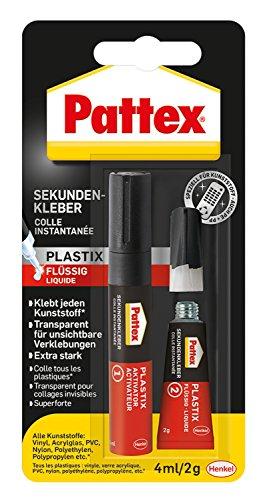 Pattex PSA1C Sekundenkleber Plastix 2g und 4ml