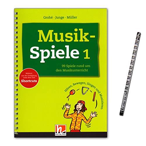 Musikspiele Band 1 : 99 kreative Ideen für den (Musik-) Unterricht - für alle Altersstufen - Helbling Verlag S6543 9783862270583