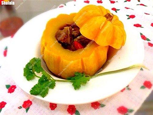 40pcs/sac exotiques Graines de citrouille japonaise délicieux Cucurbita fil d'or de citrouille Bonsai Plante en pot de légumes Livraison gratuite 11