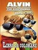 Alvin and The Chipmunks libro da colorare