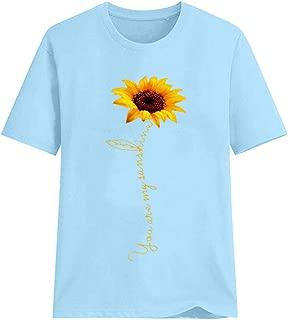 OOEOO Women Short Sleeve T-Shirt Plus Size 2019 Summer Pizza Print Funny Tees Shirt Blouse Tops