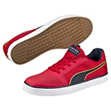 Puma Unisex-Erwachsene RBR Wings Vulc Low-Top, Rot (Chinese red-total Eclipse White 02), 44 EU