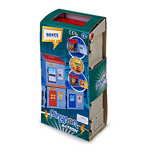 Famosa Pinypon Action 2 Mixópolis Boxes Bomberos y Banco 700015714