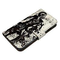 AQUOS sense3 Plus SHV46 ケース [デザイン:8.立花宗茂(白)/マグネットハンドあり] 戦国武将 家紋 和柄 祇園守 アクオスセンス3 プラス shv46 手帳型 スマホケース スマホカバー 手帳 携帯 カバー