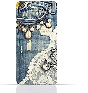 OPPO F3 TPU Silicone Case With Modern Jeans Pattern