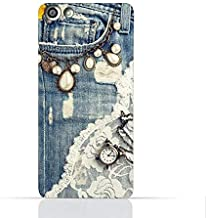 OPPO Neo 7/A33T TPU Silicone Case With Modern Jeans Pattern