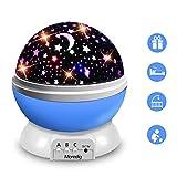Moredig Sternenhimmel Projektor Nachtlicht, Baby Nachttischlampe 360° Rotierend...