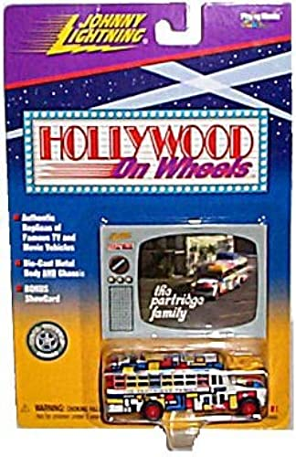 Johnny Lightning Limited Edition Hollywood On Wheels Series 1(1998) The Partridge Family Bus(1 of 8) by Johnny Lightning Hollywood on Wheels Series