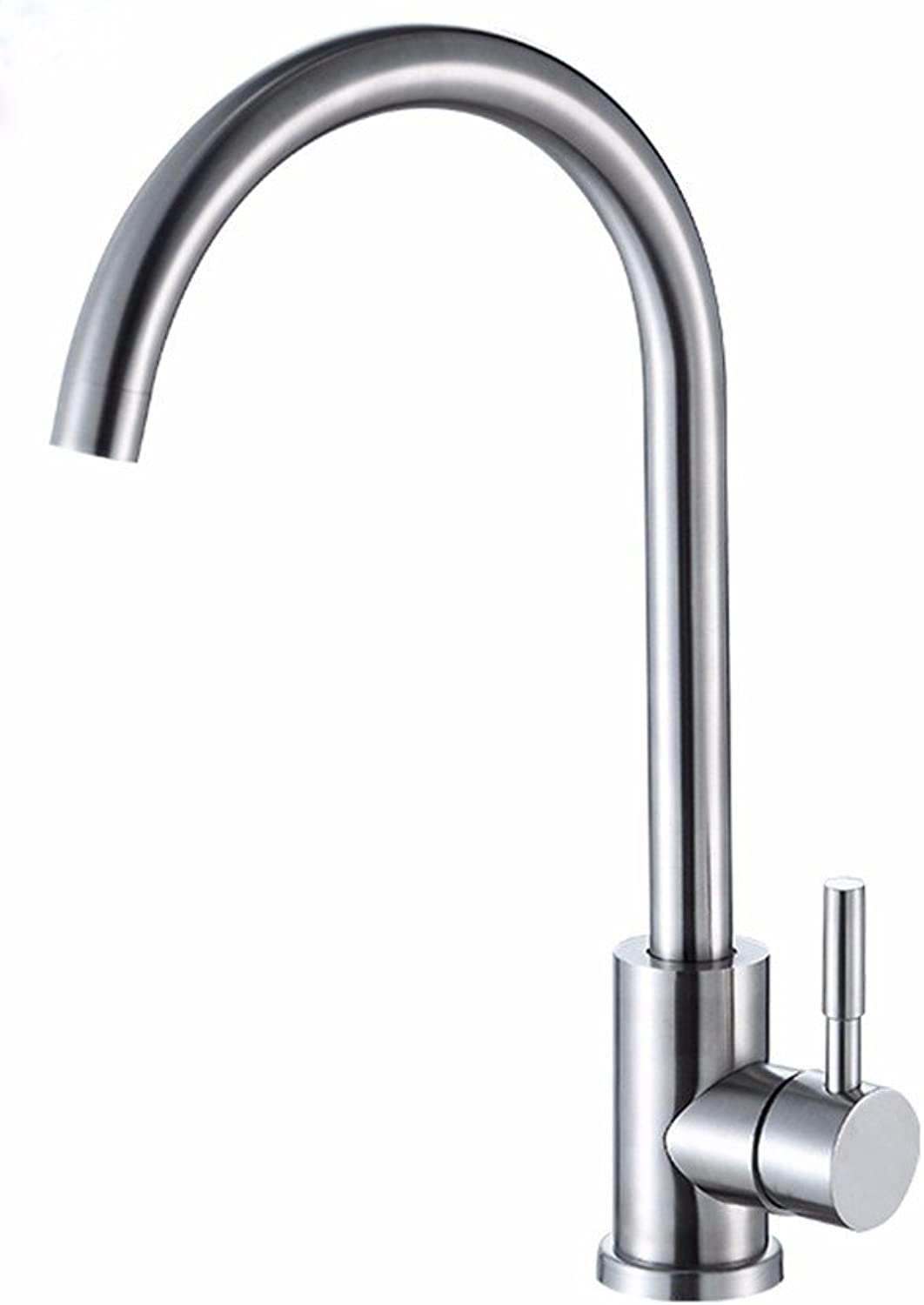 Lpophy Bathroom Sink Mixer Taps Faucet Bath Waterfall Cold and Hot Water Tap for Washroom Bathroom and Kitchen Stainless Steel Hot and Cold Single Cold Single Handle Single Hole G