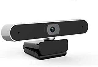 USB Webcam with Built-in Microphone, 1080P Plug-n-Play Auto Focus Web Camera for Desktop Laptop Live Class Conference Video Calling Recording Live Streaming