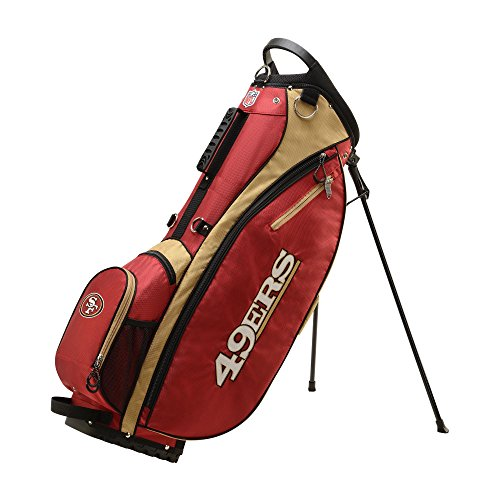 Wilson NFL San Francisco 49ers Golf Bag