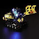 BRIKSMAX Kit de Iluminación Led para Lego Technic Cargadora con Orugas, Compatible con Ladrillos de Construcción Lego Modelo 42094, Juego de Legos no Incluido