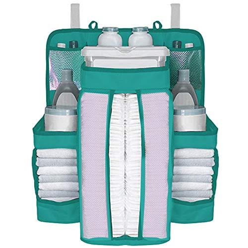 pegtopone Kindergarten Organizer Und Baby Windel Caddy | Hängende Windel Organisation Lagerung Für Baby Essentials | Krippe, Wickeltisch Oder Wand Aufhängen skilful