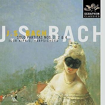 Bach: Harpsichord Partitas Nos. 1, 2 & 4
