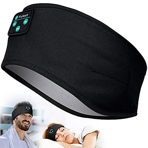 Fulext Słuchawki do spania, bezprzewodowe, sportowe słuchawki z głośnikiem stereo HD do uprawiania sportu, spania na boku, podróży samolotem, medytacji