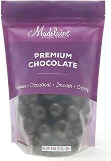 Madeliane Premium Dark Chocolate Covered Malt Balls (1/2 LB)