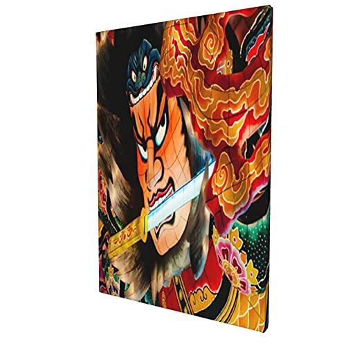 アートフレーム ポスター 壁 落書き A3 ねぶたの家ランタンフロート(ねぶたまつり)がワラセねぶたに展示 アート モダン 壁掛けアート アートボード インテリア 絵 絵画 部屋飾り 壁掛け 玄関 木枠セット 30X45CM