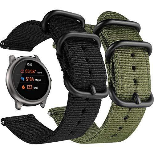 Correa deportiva de nailon para Haylou Solar LS05, reloj inteligente, pulsera, correa transpirable para correa de reloj Xiaomi