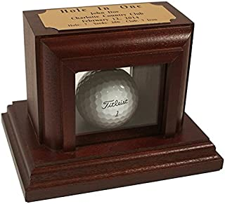 Eureka Golf Products Hole-in-One Display with Free Engraved Plate