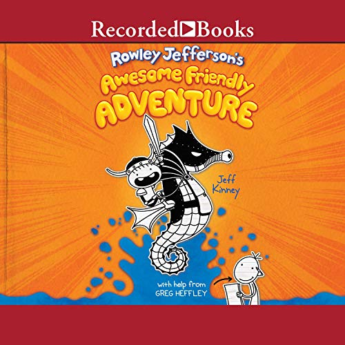 Rowley Jefferson's Awesome Friendly Adventure audiobook cover art