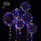 Toyland® Globo de luz LED para decoraciones de bodas / fiestas / eventos (paquete de 6)