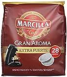 Marcilla Café Gran Aroma Extra Fuerte - 140 Monodosis compatibles con las máquinas de café SENSEO - 5 Paquetes de 28 Unidades