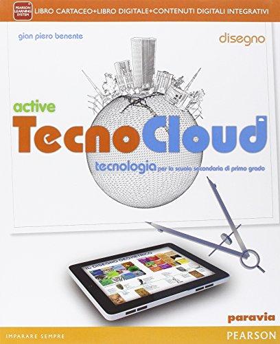 Tecno Cloud Disegno E Tavolelim Per La Scuola Media Con E Book Con Espansione Online Con Libro