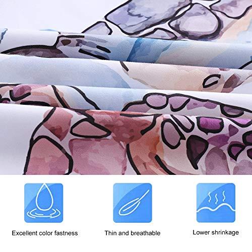 Fdit polyester beddengoedset 3-delig dekbedovertrek met kussensloop gemaakt van zacht poly-katoen MEHRWEG verpakking socialme-eu