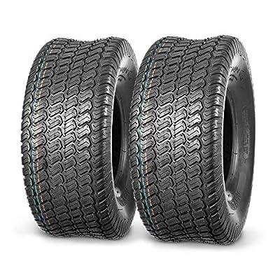 MaxAuto 2Pcs 20x8-8 20x8x8 Lawn Mower Cart Turf Tires P332 4PR Load Range B