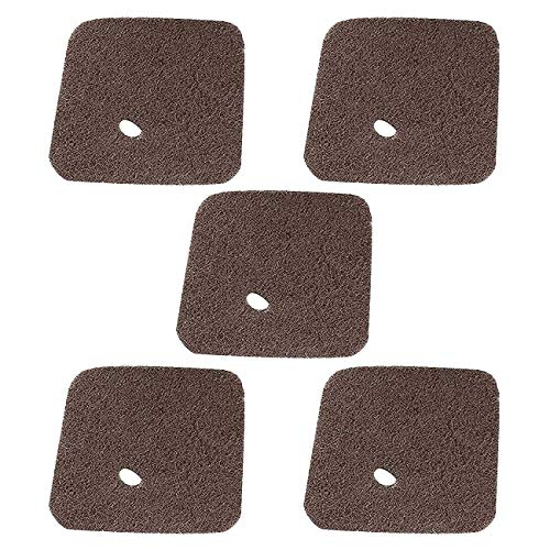 Poweka Air Filter Fit For Stihl FS38 FS45 FS46 FS55 HS45 FC55 Trimmer Edger Pruner Replaces # 4140 124 2800 (5 Packs)