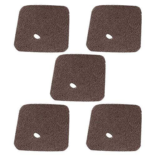 Poweka Air Filter Fit For Stihl FS38 FS45 FS46 FS55 HS45 FC55 Trimmer Edger Pruner Replaces # 4140 124 2800 (5 Packs)