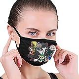 Qwertyi Creepypasta Outdoor Seamless Face Mouth Safety Reusable Balaclava