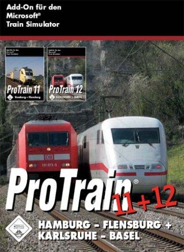 Train Simulator - ProTrain 11 + 12: Hamburg - Flensburg + Karlsruhe - Basel - [PC]