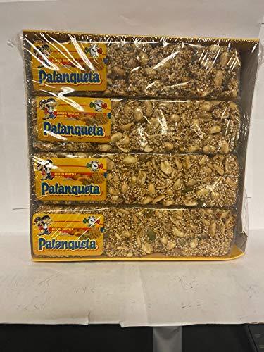MDM Palanqueta MIXED PEANUT BRITTLE MIXTA 12CT 4.6OZ BARS (130G)