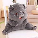 KYSM Plüschtier Kreative Süße Schwein Tier Taille Kissen Plüsch Spielzeug Puppe Halten Kissen 48...