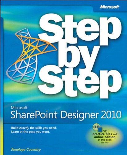 Microsoft SharePoint Designer 2010 Step by Step (English Edition)