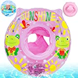 Baby Schwimmring,Baby Aufblasbarer schwimmreifen,Rosa Baby Schwimmhilfe,Baby Pool Schwimmring,Aufblasbarer schwimmreifen Kleinkind,Float Kinder Schwimmring,Kinder Schwimmreifen Spielzeug