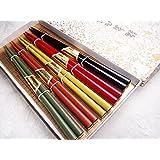 輪島箸 5膳紙箱入り 日本の伝統色 乾漆塗り
