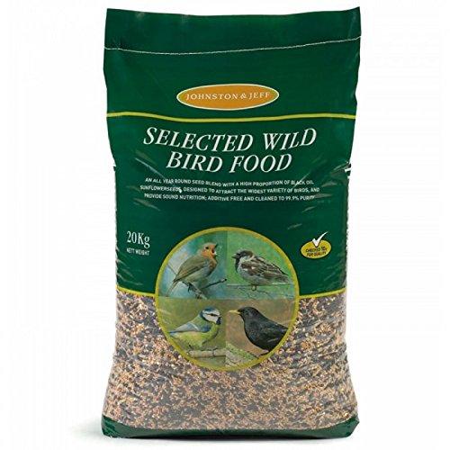 Johnston & Jeff Wild Bird Food, 20 kg