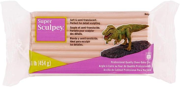 Sculpey Arcilla polimérica, Beige, Empaque puede variar