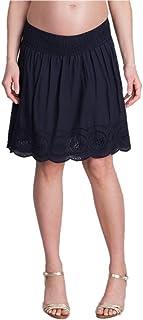 Seraphine セラフィン マタニティスカート Dana クロシェレースコットンマタニティスカート イギリスサイズ8 ネイビー