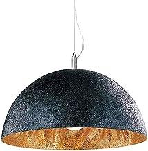 Woondecoratie Lampen Industriële Retro Hanglamp Zwart Goud Hars en Metaal E27 Gloeilamp Hanglamp Verstelbare Hoogte Vault ...