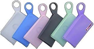 NA SARC Products Estuche Portátil de Silicona para Mascarillas Desechables Caja para Almacenamiento de Mascarilla a Prueba de Polvo y Humedad Funda Aislante de Mascarillas Bolsa